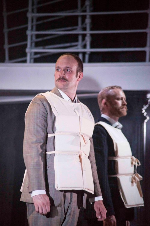 Douglas Hansell as Charles Clarke and Peter Prentice as Edgar Beane