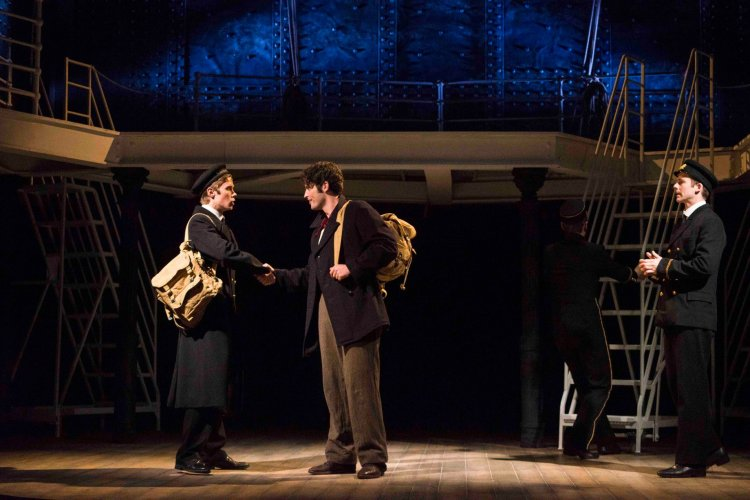 Rob Houchen as Fleet, Niall Sheehy as Barrett and Matthew Crowe as Bride