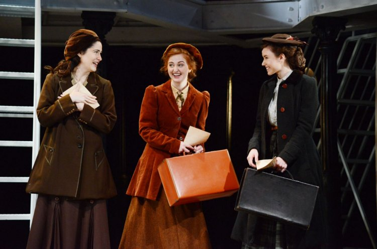 Victoria Serra as Kate McGowan, Scarlett Courtney as Kate Mullins and Jessica Paul as Kate Murphy