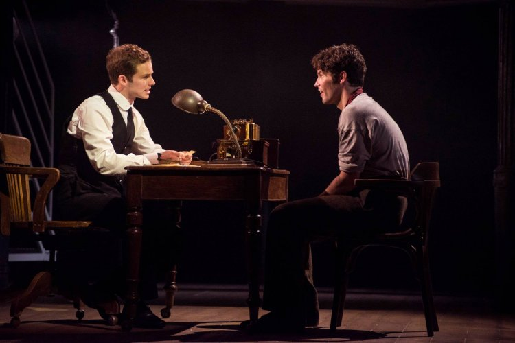 Matthew Crowe as Bride and Niall Sheehy as Barrett
